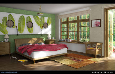 Bed room - morning shot