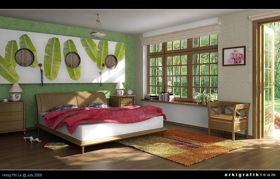 Casa: Kazuka Bed_room___morning_shot_by_HongPhi