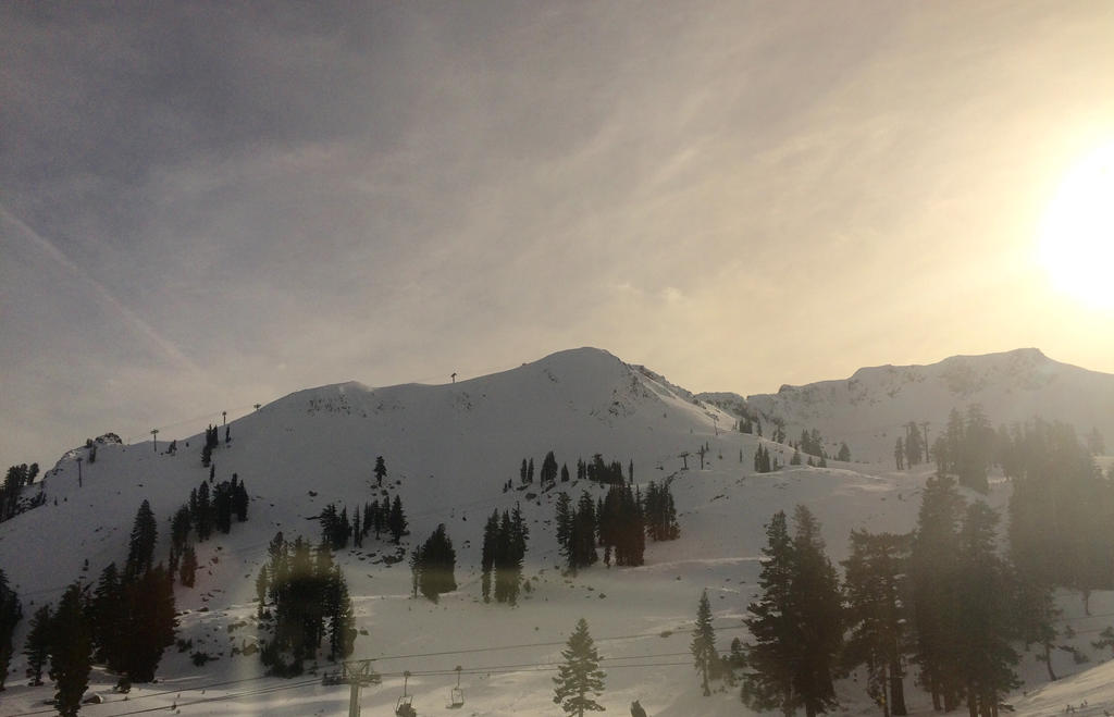 Sunset on the Slopes by micahgoulart