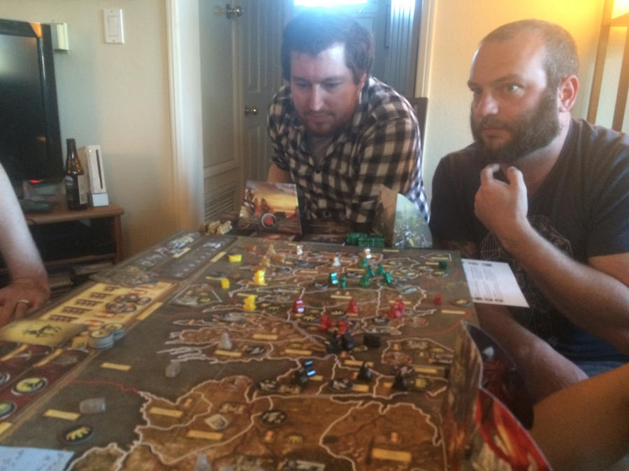 Game of Thrones board game by micahgoulart