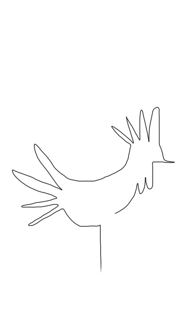 Rooster (Continuous Line Drawing) by micahgoulart