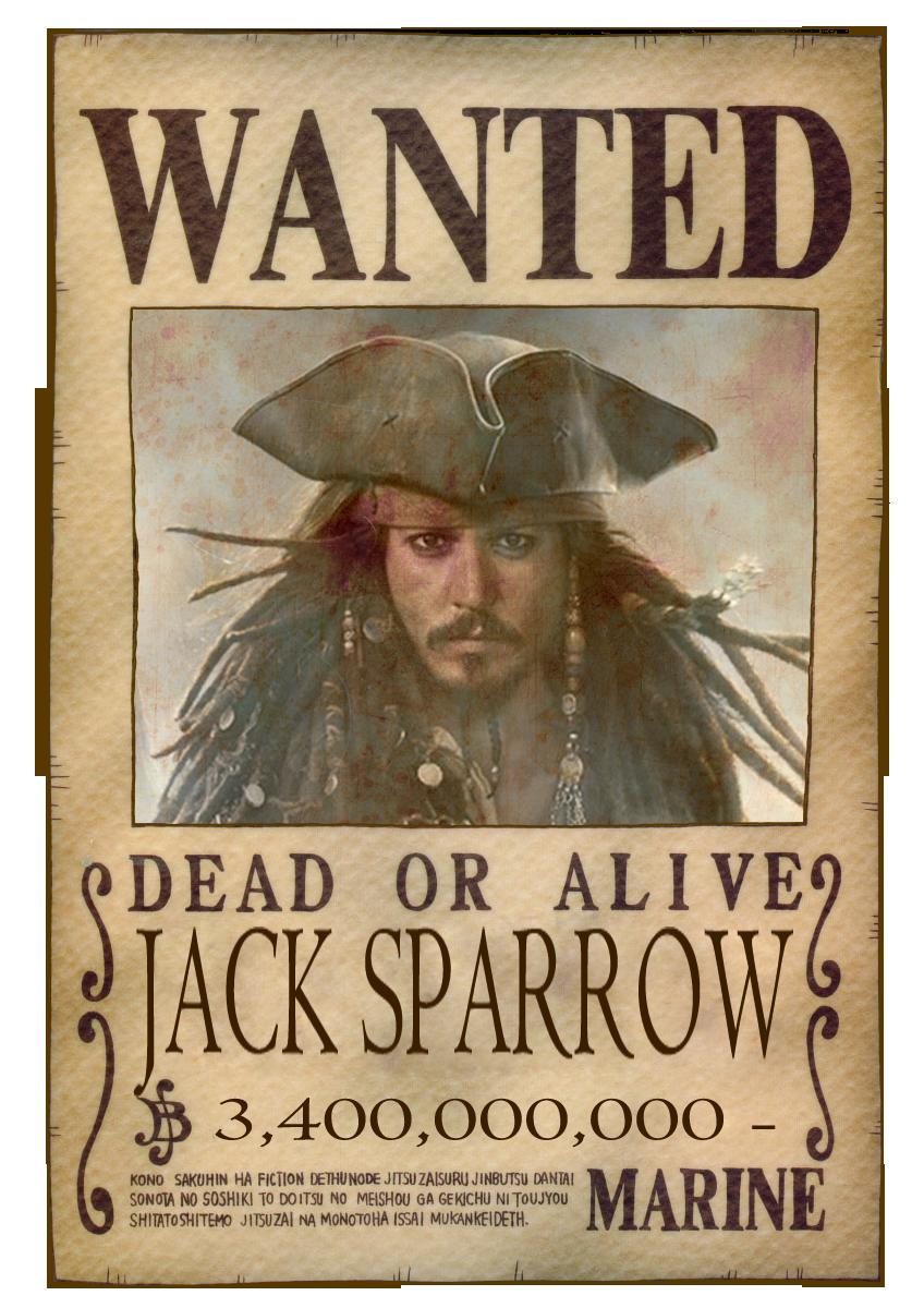 Jack Sparrow   Wanted ... Via Image