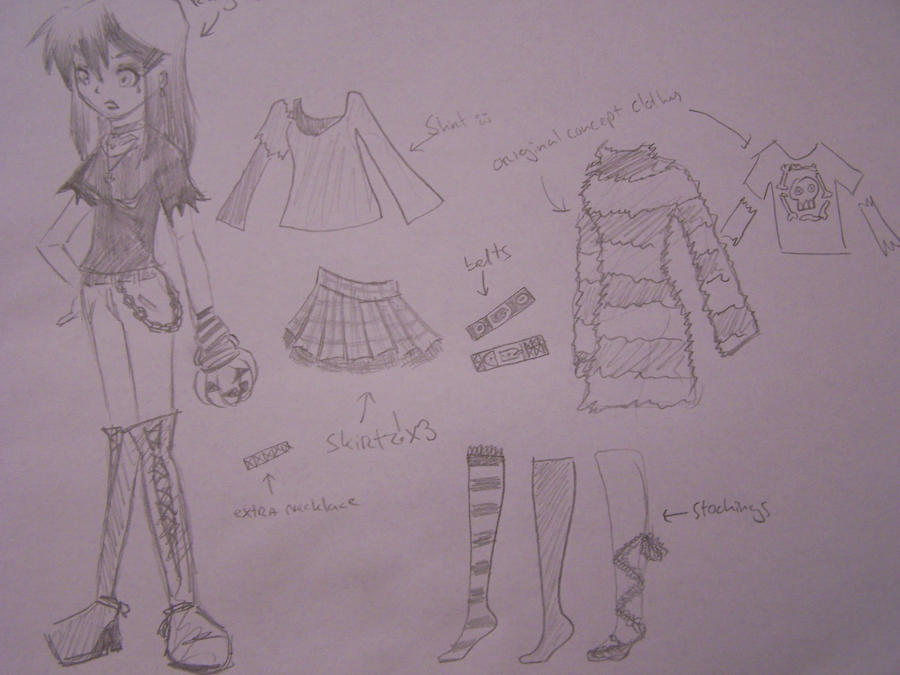Raven Madison Clothes. by xXStrawberryxMisaXx