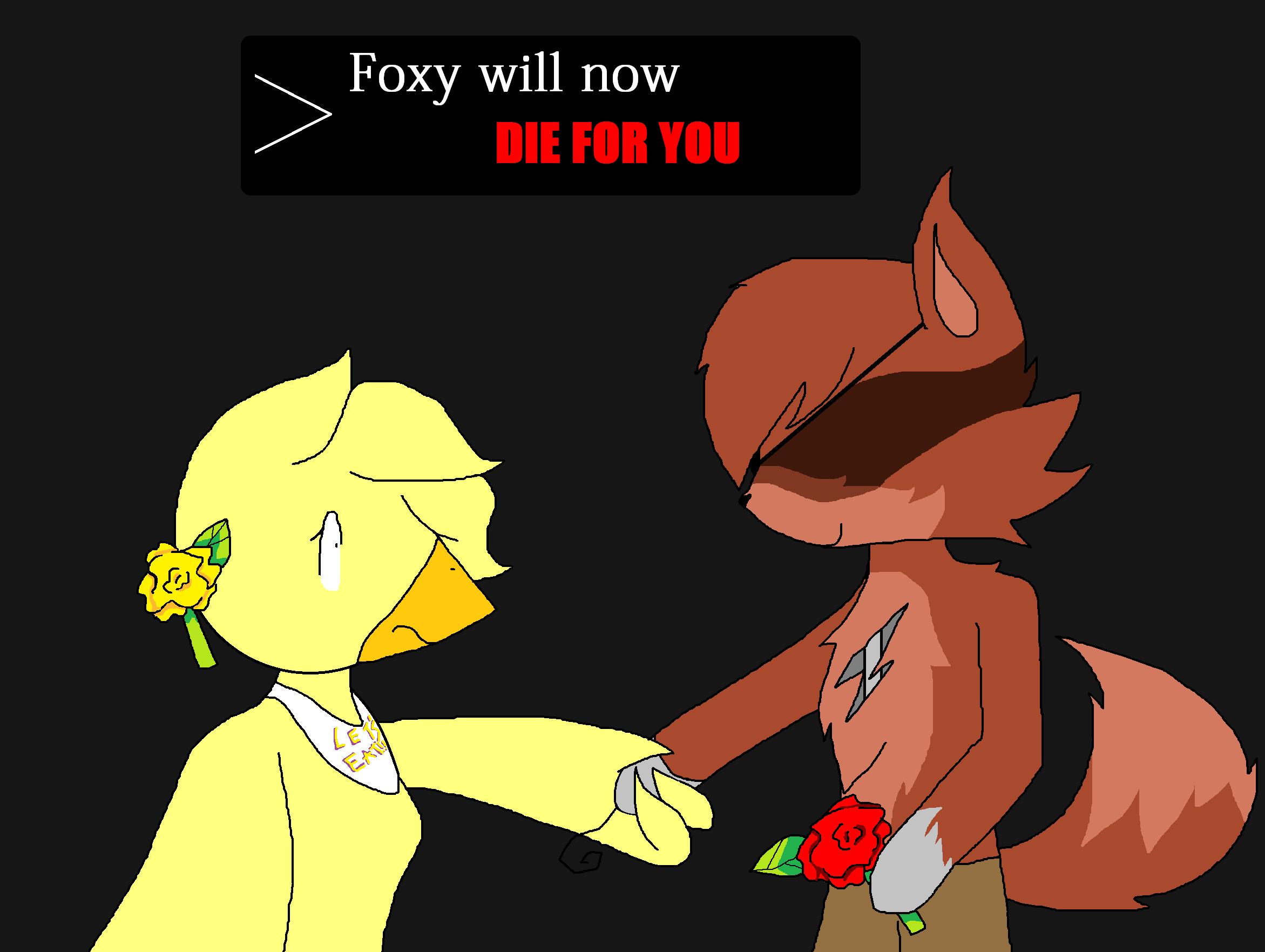 Fnaf fanfiction foxys in love sequel butik work
