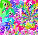 ponies by messengyr