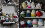 Crochet Eggs by fuyumiko