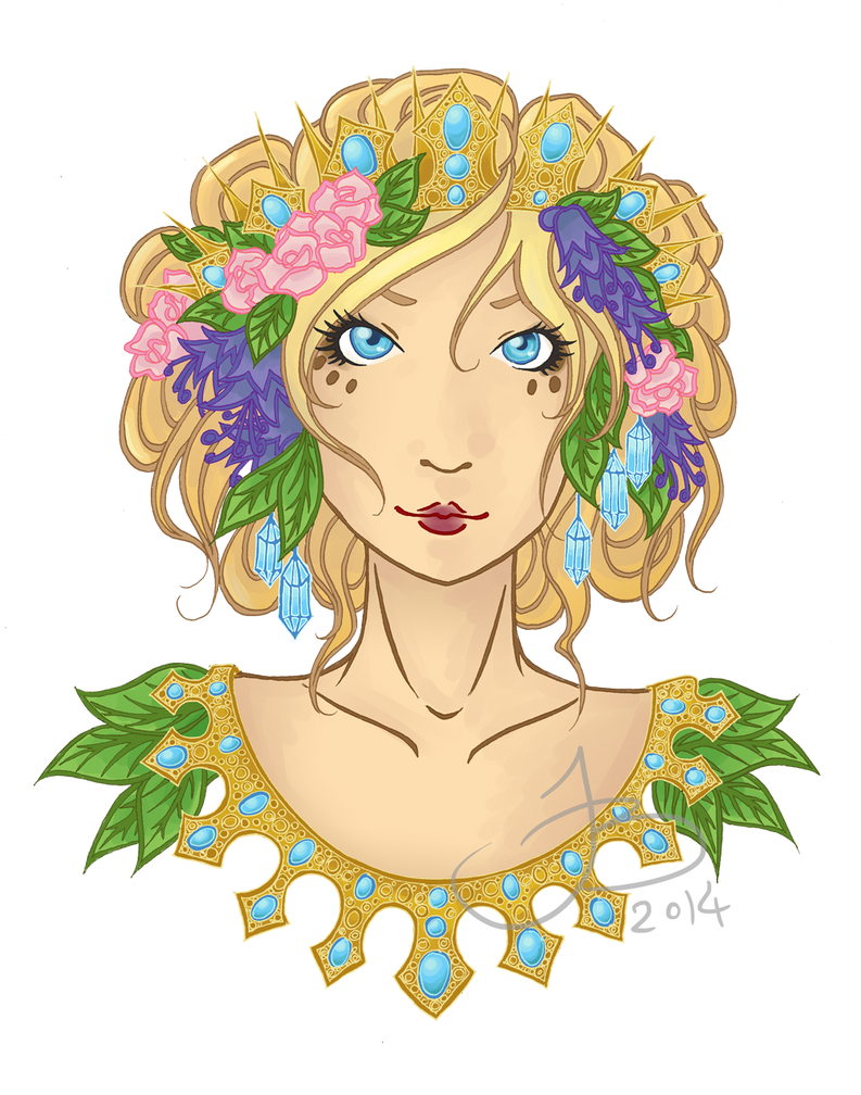 Queen of Summer by fuyumiko