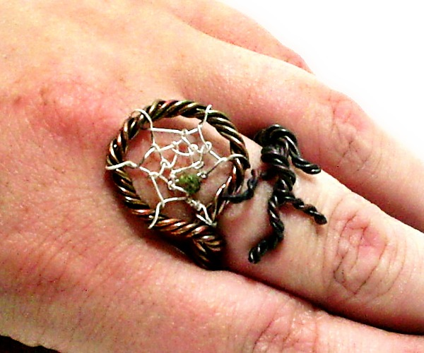 Peollanna got their homepage at for How to make a double ring dreamcatcher