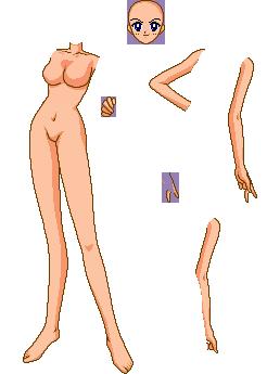 SSMU: Female Teen Base Pieces by SSMU