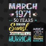 Sunshine Mixed With A Little Hurricane T-shirt