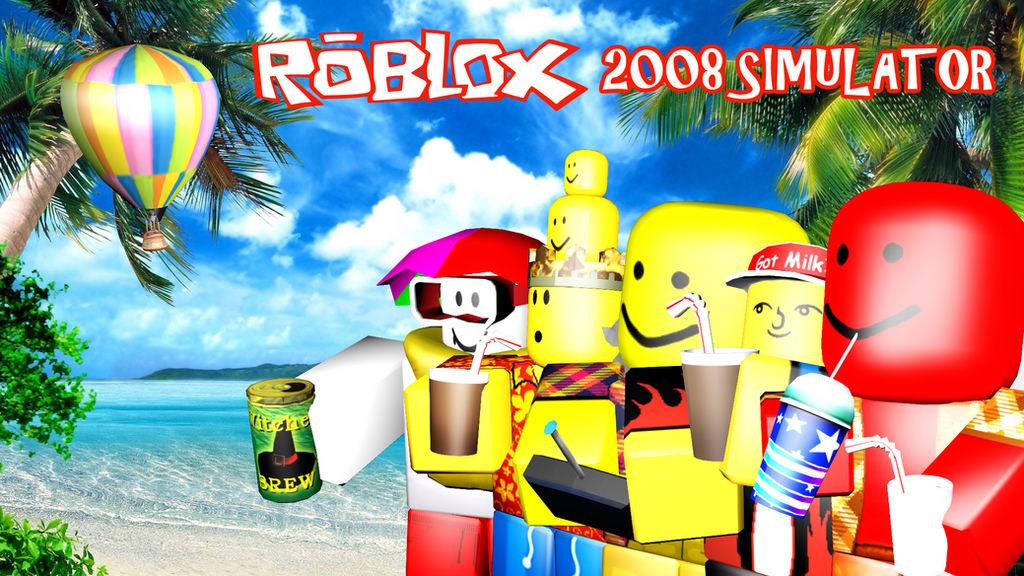 ROBLOX 2008 Simulator Summer Thumbnail by Wrathoxic on