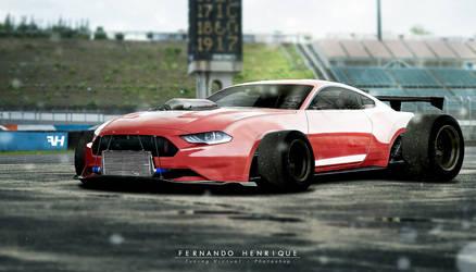 Ford Mustang GT EU Version 2018 - Tuning by shinoaburame23
