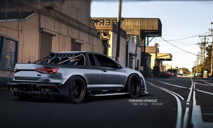 Volkswagen Virtus - Tuning by shinoaburame23