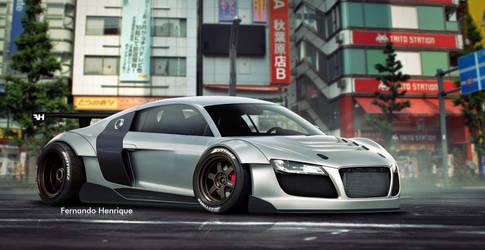 Audi R8 GT3 2009 - Tuning by shinoaburame23