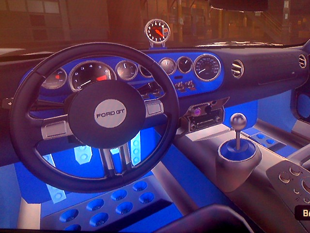 Ford Gt Interior By Emothxiii
