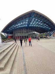 Halle, Belgium Train Station by longrider1952