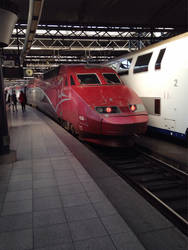Thalys at Brussels Midi
