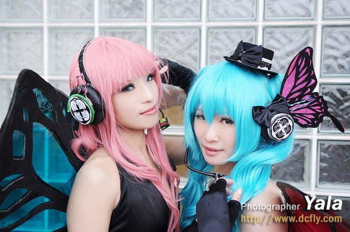 Luka x Miku magnet cosplay by Muffin-PrincessCraft