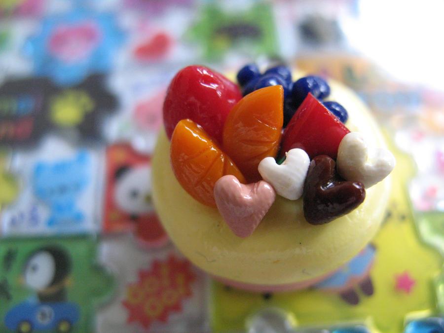Fruit Cheesecake by PuniTotoro