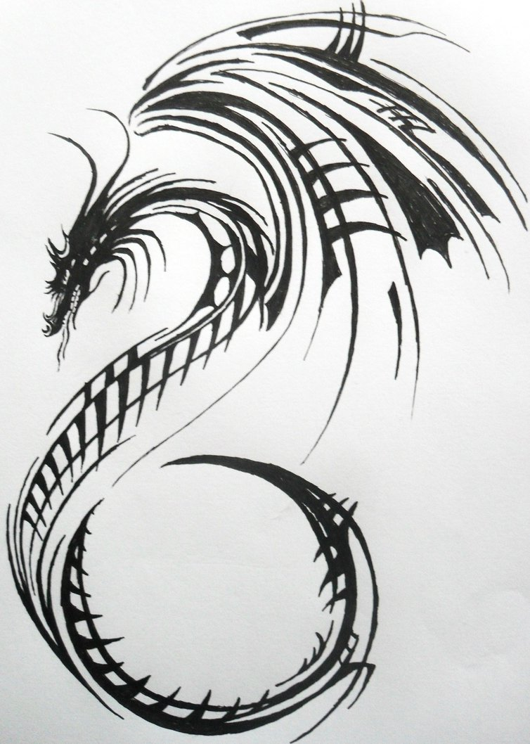 dragon tattoo skeleton 2 by xxdirtyraptorxx on deviantart. Black Bedroom Furniture Sets. Home Design Ideas