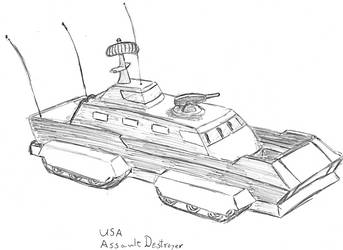 Assault Destroyer by TheLightLOD