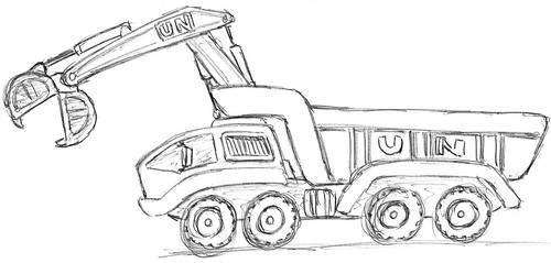UN Work Truck by TheLightLOD