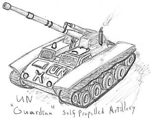 UN Guardian Artillery by TheLightLOD