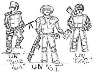 UN Infantry by TheLightLOD