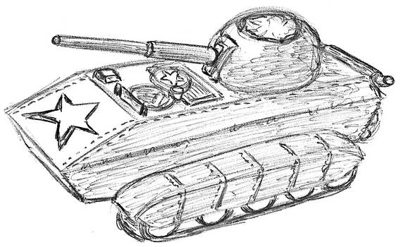 China Amfibious Tank Destroyer by TheLightLOD