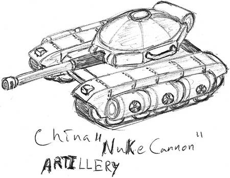 China Nuke cannon by TheLightLOD