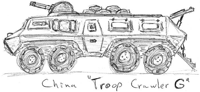 China Troop Crawler G by TheLightLOD