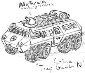 China Troop Crawler N by TheLightLOD