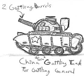 China Twin Gattling Tank by TheLightLOD