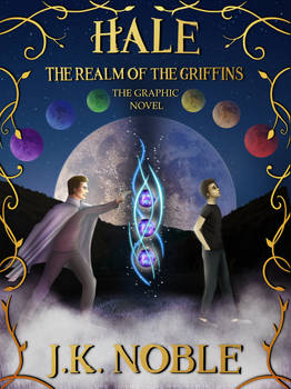 Cover to Graphic Novel, The Realm of the Griffins