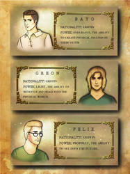 Character Introduction Page- Graphic Novel