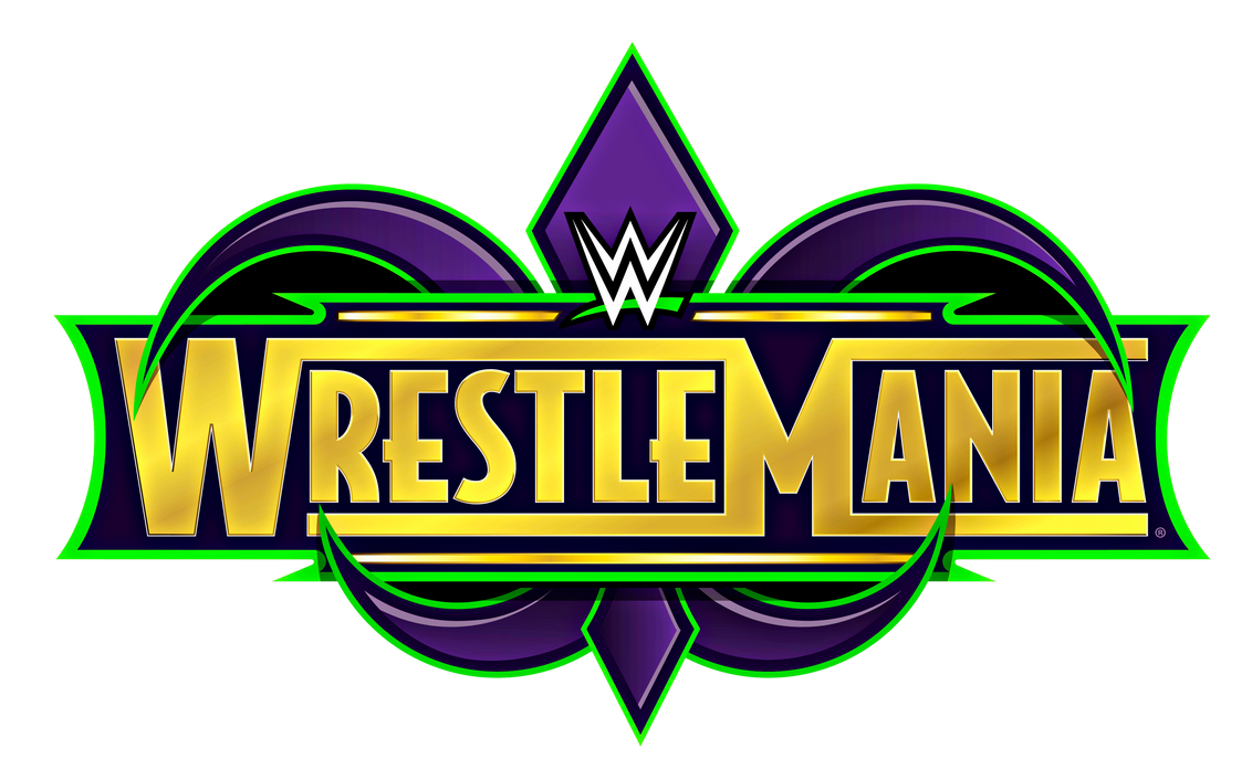 wwe wrestlemania 34 logo hd (5,794 x 3,612)kingquake on deviantart