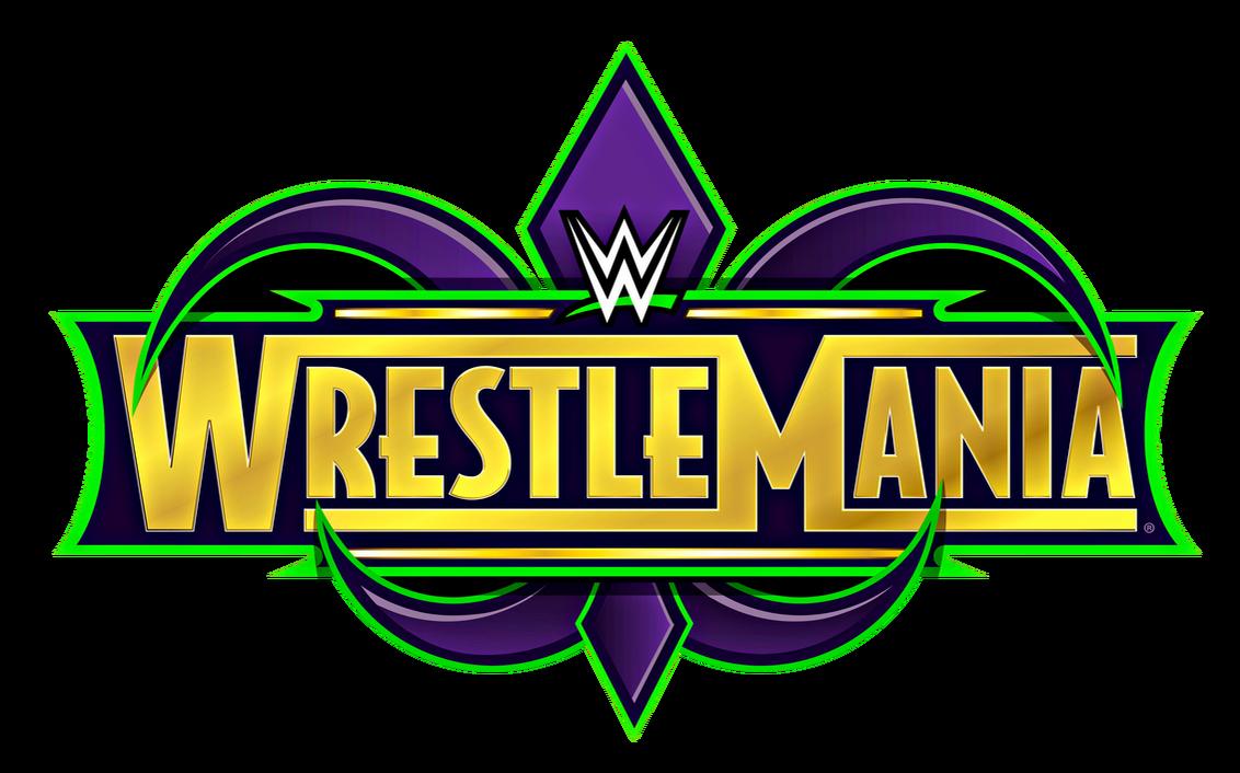 WWE WrestleMania 34 Logo HD (5,794 x 3,612) by KingQuake