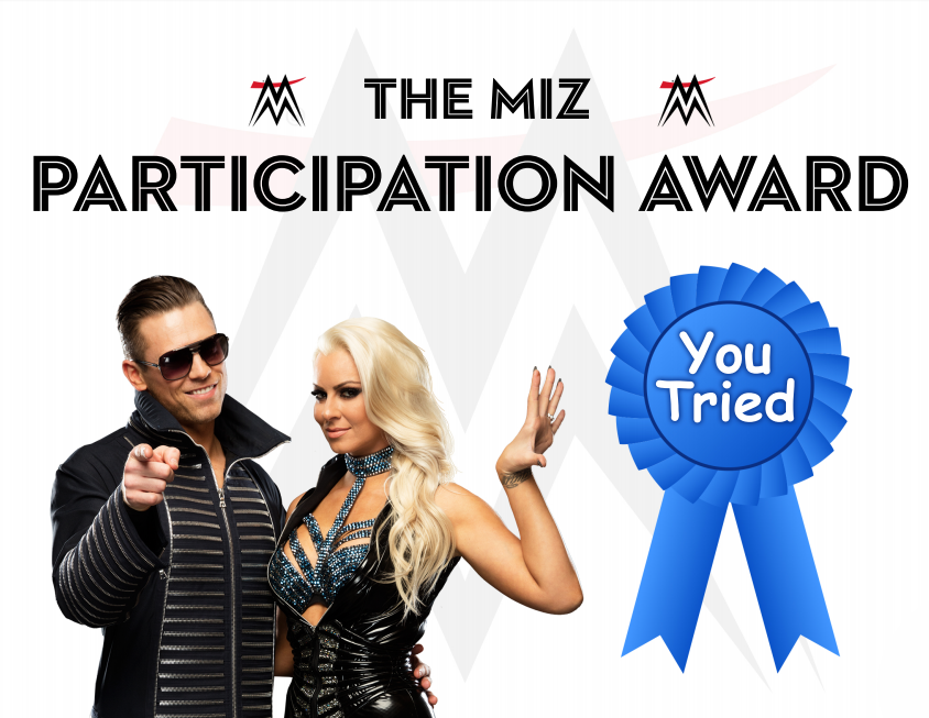 The Miz Participation Award by KingQuake