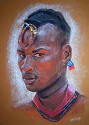 Tribal Man by exsandohs1