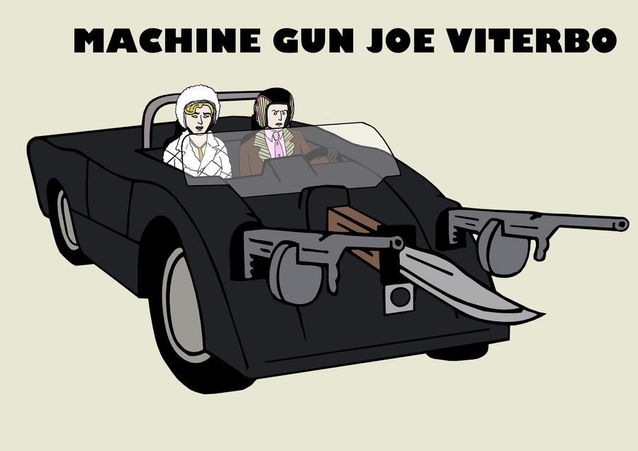 race 2000 machine gun joe