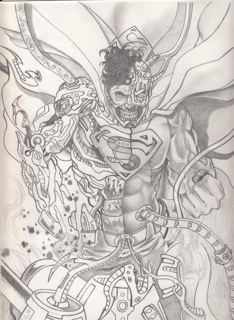 Superman Pencil Drawings Easy Superman Pencil Drawings