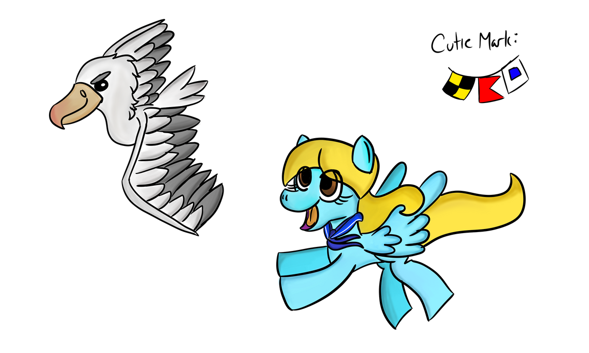 Ponysona- Little Blue Sailor