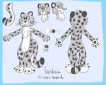 Anastasia the Snow Leopard Reference