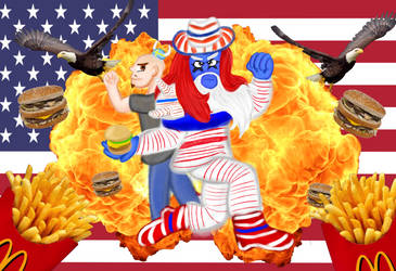 WE ARE THE CHEESEBURGER FREEDOM MEN YEAH BROTHER!!