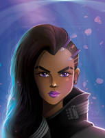Overwatch: Sombra by LauriTheArtist