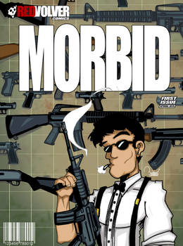 MORBID Comic Book by ramova