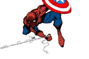 Civil War Spider-Man by ramova