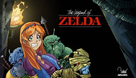 The Legend of Zelda by ramova