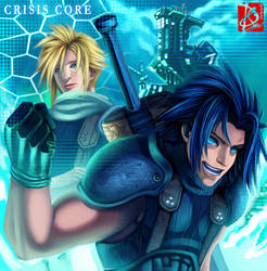 FINAL FANTASY VII Crisis Core by Clearmirror-StillH2O