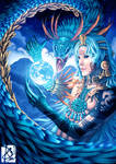 Dualism of Quetzalcoatl by Clearmirror-StillH2O